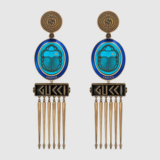 Gucci Earrings with cameo