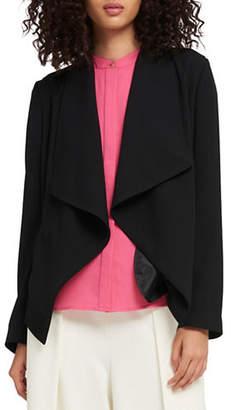 DKNY Drape Open-Front Jacket