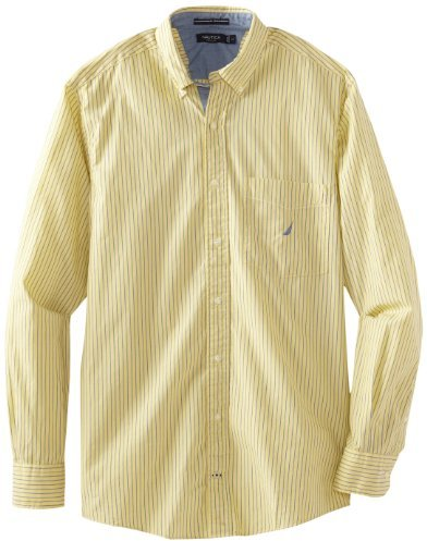 Nautica Men's Big-Tall Bengal Stripe Shirt