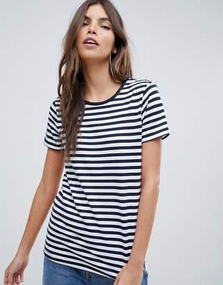 Asos DESIGN stripe crew neck t-shirt