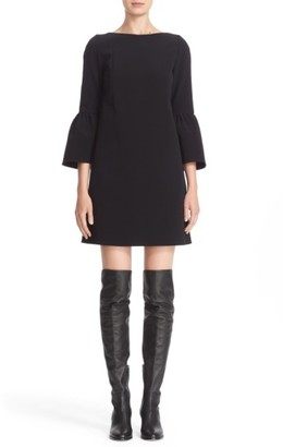 Women's Lafayette 148 New York 'Marisa' Flounce Cuff Shift Dress $498 thestylecure.com