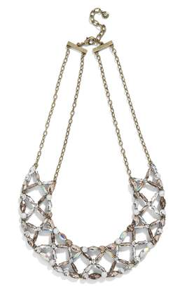 BaubleBar Analeigh Crystal Statement Necklace