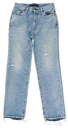 Simon Miller Mid-Rise Straight Jeans