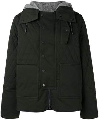 Pringle quilted twill jacket