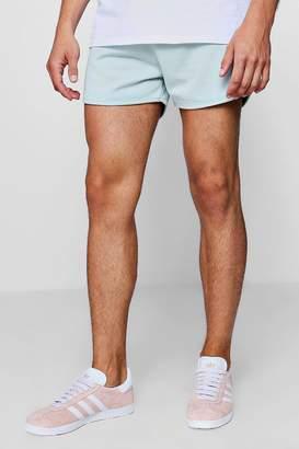 boohoo Jersey Basic Runner Shorts
