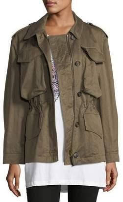 Burberry Portwell Four-Pocket Military Jacket