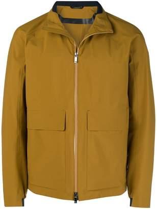 Ermenegildo Zegna oversized pockets zipped jacket