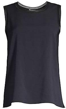 BOSS Women's Istora Stretch Silk Shell Top - Size 0