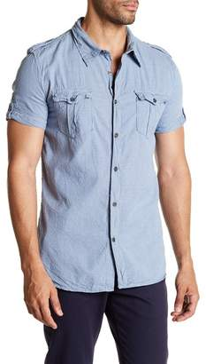 Rogue Stripe Double Pocket Regular Fit Button Shirt