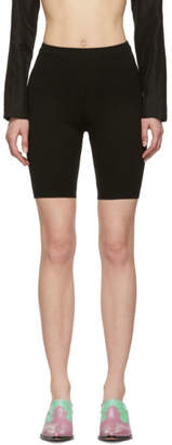 Maryam Nassir Zadeh Black Biker Shorts