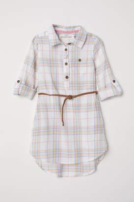 H&M Shirt dress - White