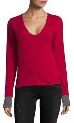 Zadig & Voltaire V-Neck Cashmere Sweater