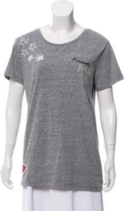 Scotch & Soda Embroidered Short Sleeve Top w/ Tags