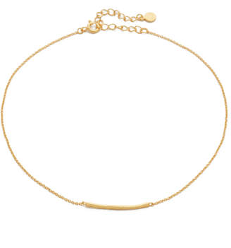Gorjana Taner Bar Choker Necklace $50 thestylecure.com