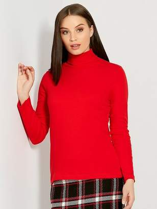 M&Co Roll neck top