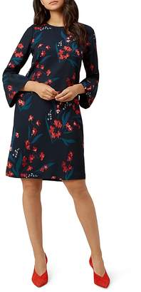 Hobbs London Flora Fluted-Cuff Dress