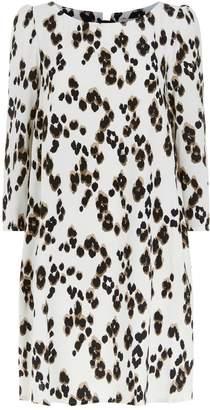 Claudie Pierlot Leopard Print Mini Dress
