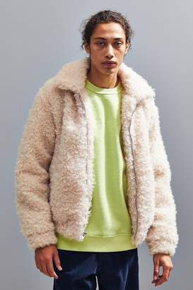 Urban Outfitters Ultra Shaggy Bomber Jacket