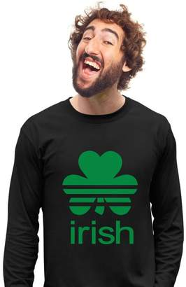 DAY Birger et Mikkelsen Tstars TeeStars - St. Patrick's Shamrock Clover - Irish Long Sleeve T-Shirt