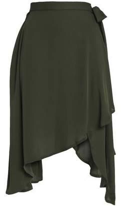 J.W.Anderson Asymmetric Jersey Midi Skirt