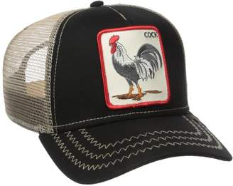 Goorin Bros. Men's 'Cock' Patch Trucker Hat Cap (Blue)