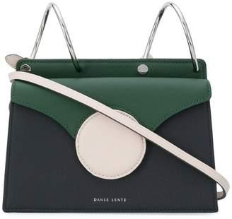 Lente Danse contrast circle shoulder bag