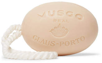 Claus Porto Orange Amber Soap On A Rope, 190g