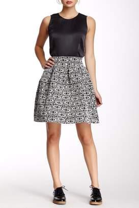 Gracia Flared Bandage Skirt