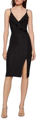 BCBGeneration Ruffle Sleeveless Sheath Dress