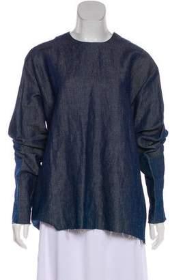 Yang Li Denim Long Sleeve Tunic