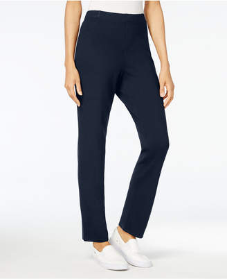 Karen Scott Petite Comfort Pull-On Pants