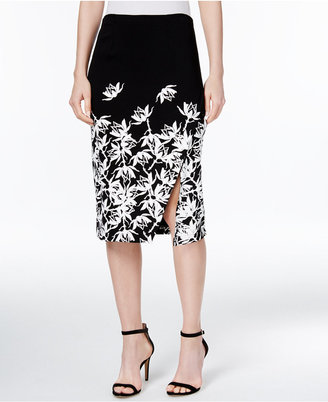 YYIGAL Printed Wrap Skirt, a Macy's Exclusive Style $89 thestylecure.com