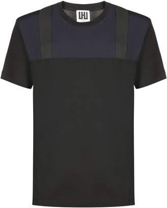 Les Hommes Contrast Panel T-shirt