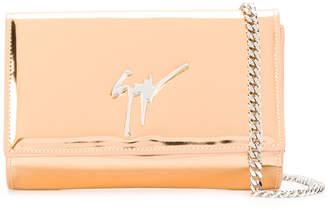 Giuseppe Zanotti Design mirrored chain wallet