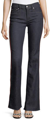 RED Valentino Rinse-Washed Stretch-Denim Jeans