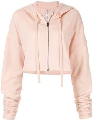Alo Yoga cropped zipped hoodie
