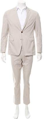 Burberry Woven Two-Piece Suit