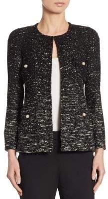 Edward Achour Tweed Ombre Jacket