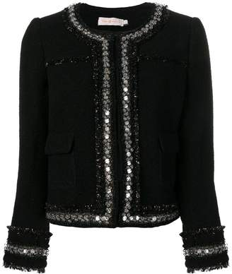 Tory Burch sequin embellished jacket