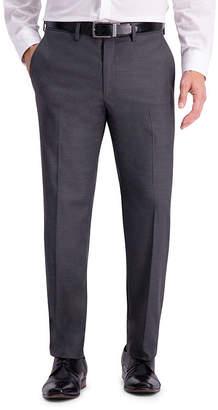 Haggar Jm Texture Weave Slim Fit Suit Sep Pant Jacquard Slim Fit Stretch Suit Pants
