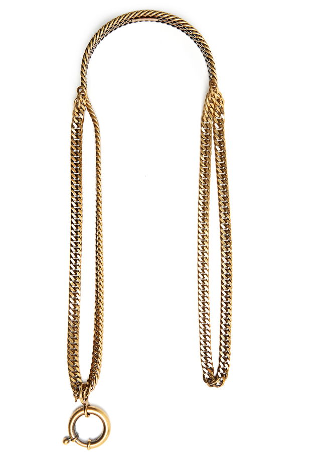 Balenciaga  BALENCIAGA Layered-chain necklace
