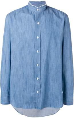 Salvatore Piccolo band collar shirt