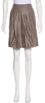 Etro Linen A-Line Skirt