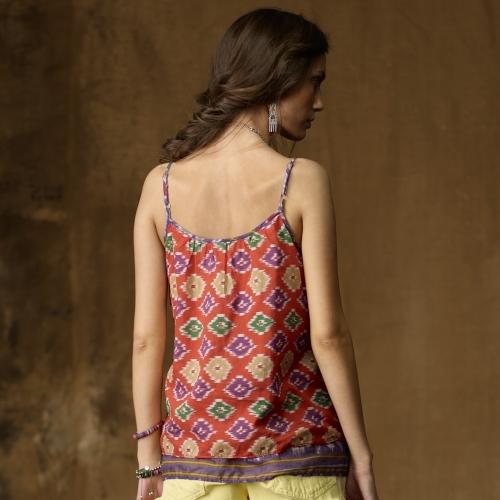 Denim & Supply Ralph Lauren Hand-Smocked Camisole
