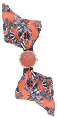 Furla Giada Bandeau Silk Wrap Watch, 33mm