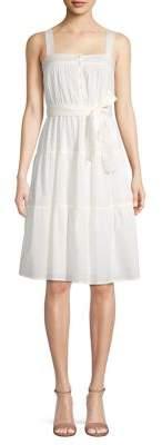 Vero Moda Sleeveless Cotton A-Line Dress