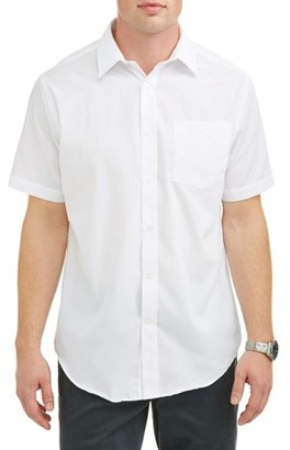 George Men's Short Sleeve Dress Shirt