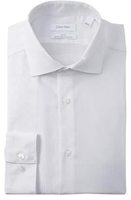 Calvin Klein Solid Spread Slim Fit Dress Shirt