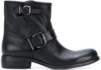 Strategia biker boots