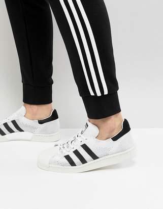 adidas Superstar Boost Primeknit unisex Sneakers In White